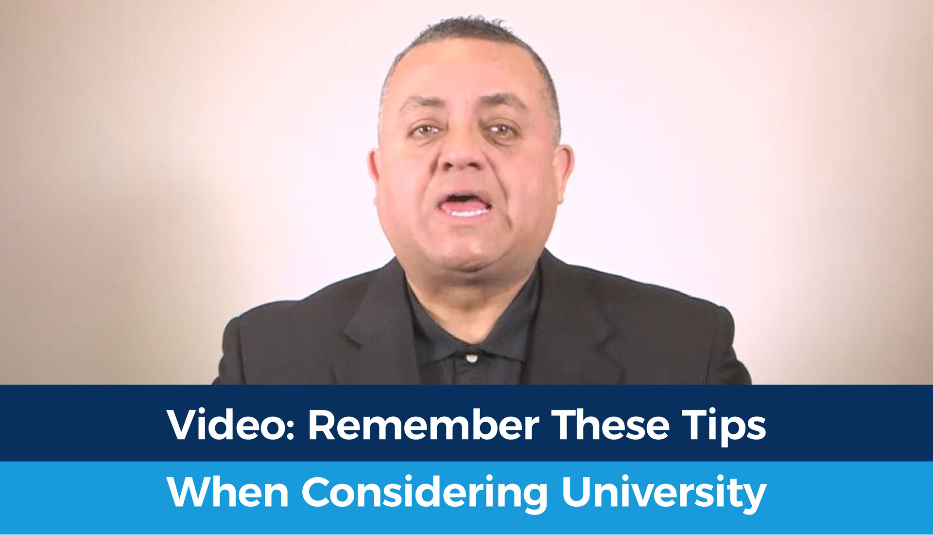 Tips to remember when considering university